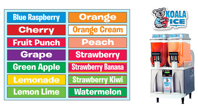 Koala 100% Juice Slush